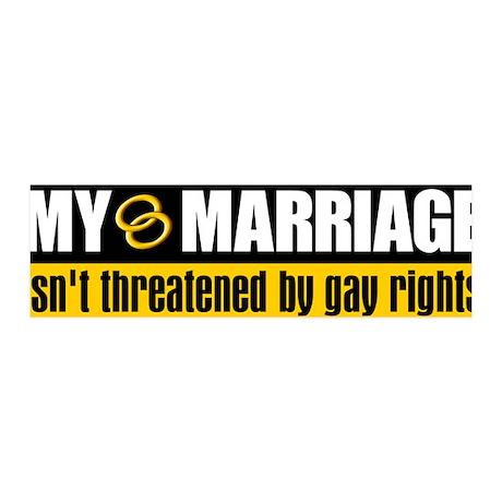 My Marriage 36x11 Wall Peel