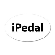 iPedal 20x12 Oval Wall Peel