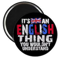 English Thing Magnet