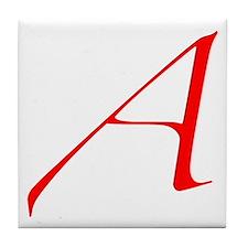 Atheist 'A' Tile Coaster