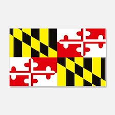 Maryland Flag 20x12 Wall Peel