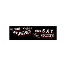 Bat Country - 36x11 Wall Peel