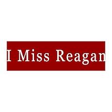 I Miss Reagan 36x11 Wall Peel