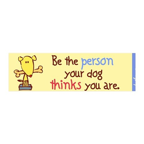 Be The Person 36x11 Wall Peel