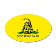 Tea Party Gadsden flag! Patriotic Wall Decal