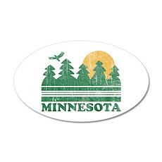 Minnesota 20x12 Oval Wall Peel