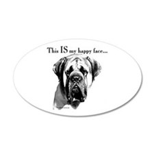 Mastiff 137 20x12 Oval Wall Peel