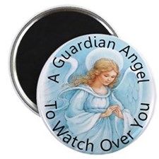 """A guardian angel to watch ove 2.25"""" Magnet (10 pac"""