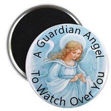A guardian angel to watch ove Magnet