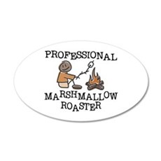 Professional Marshmallow Roaster 20x12 Oval Wall P
