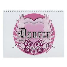 Dancer with Heart by DanceShirts.com Wall Calendar