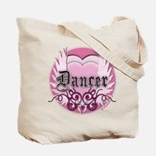 Dancer with Heart by DanceShirts.com Tote Bag