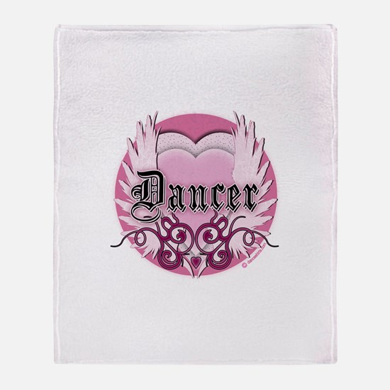 Dancer with Heart by DanceShirts.com Stadium Blan