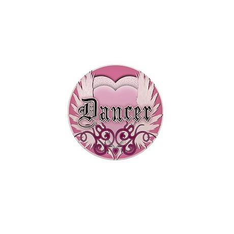 Dancer with Heart by DanceShi Mini Button (100 pac