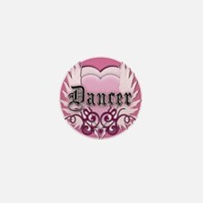 Dancer with Heart by DanceShi Mini Button
