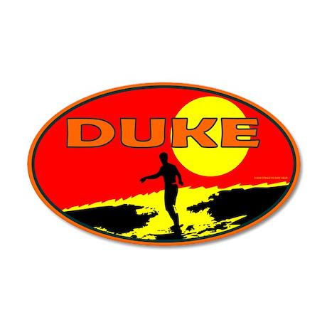 Duke 35x21 Oval Wall Peel