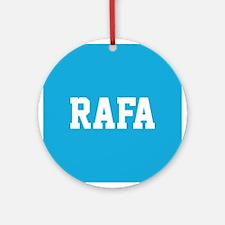 Rafa Ornament (Round)