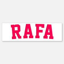 Rafa Bumper Bumper Sticker