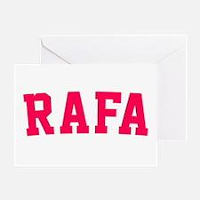 Rafa Greeting Card