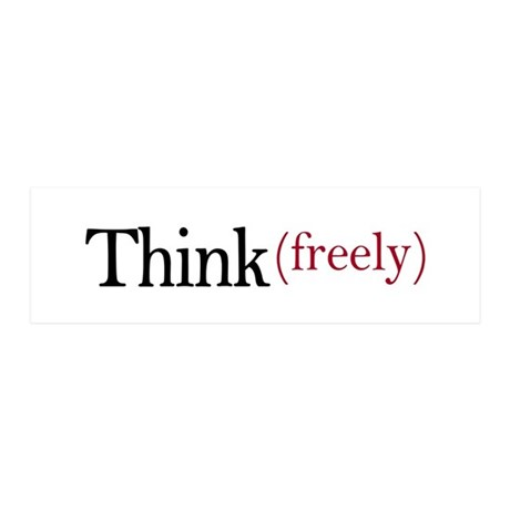 Think freely 36x11 Wall Peel
