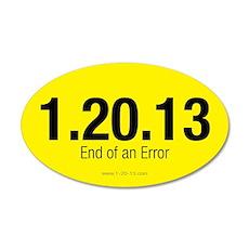 End of an Error Yellow Sticker