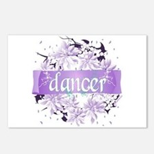Crystal Violet Dancer Wreath Postcards (Package of