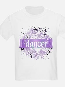 Crystal Violet Dancer Wreath T-Shirt