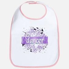 Crystal Violet Dancer Wreath Bib