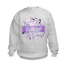 Crystal Violet Dancer Wreath Sweatshirt