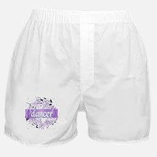 Crystal Violet Dancer Wreath Boxer Shorts