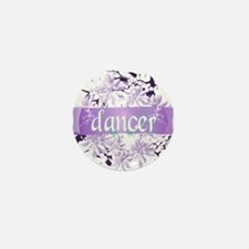 Crystal Violet Dancer Wreath Mini Button