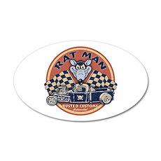 Rat Man 20x12 Oval Wall Peel