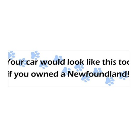 Your Car Newfoundland 36x11 Wall Peel