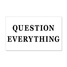 Question Everything 20x12 Wall Peel
