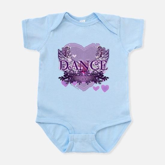 Dance Forever by DanceShirts.com Infant Bodysuit