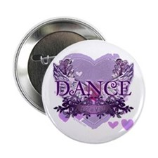 "Dance Forever by DanceShirts.com 2.25"" Button"