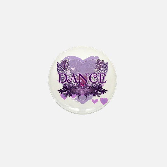 Dance Forever by DanceShirts.com Mini Button