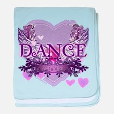 Dance Forever by DanceShirts.com baby blanket