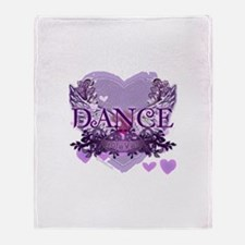 Dance Forever by DanceShirts.com Throw Blanket