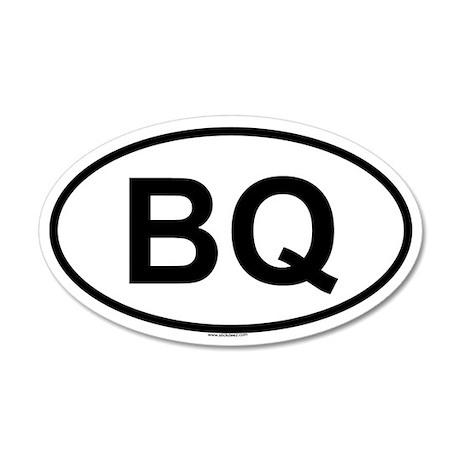 BQ 20x12 Oval Wall Peel