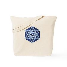 Celestial Blue Star Tote Bag