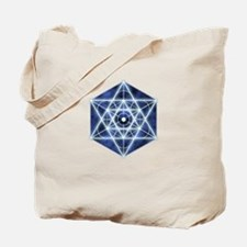 Celestial Blue Star Tote Bag