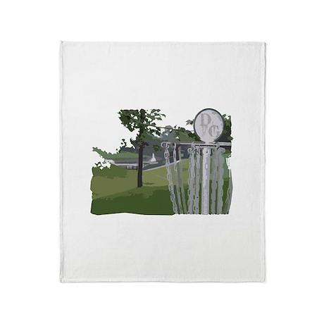 Lapeer Disc Golf Throw Blanket
