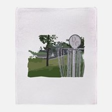 Lapeer Disc Golf Throw Blanket