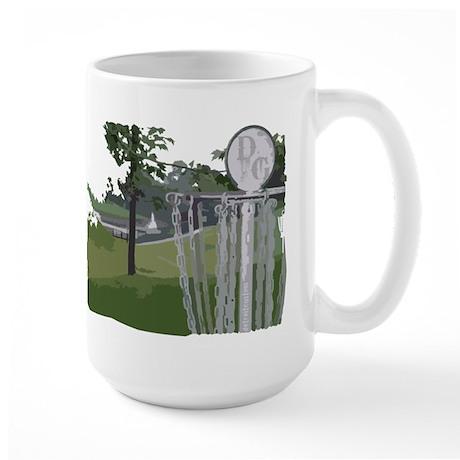 Lapeer Disc Golf Large Mug
