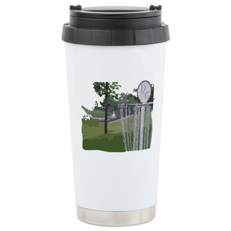 Lapeer Disc Golf Stainless Steel Travel Mug