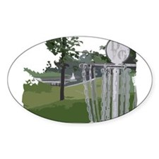 Lapeer Disc Golf Decal