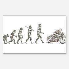 CAFE RACER EVOLUTION Sticker (Rectangle)