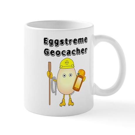 Eggstreme Geocaching Mug