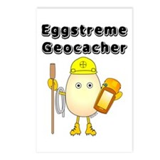 Eggstreme Geocaching Postcards (Package of 8)